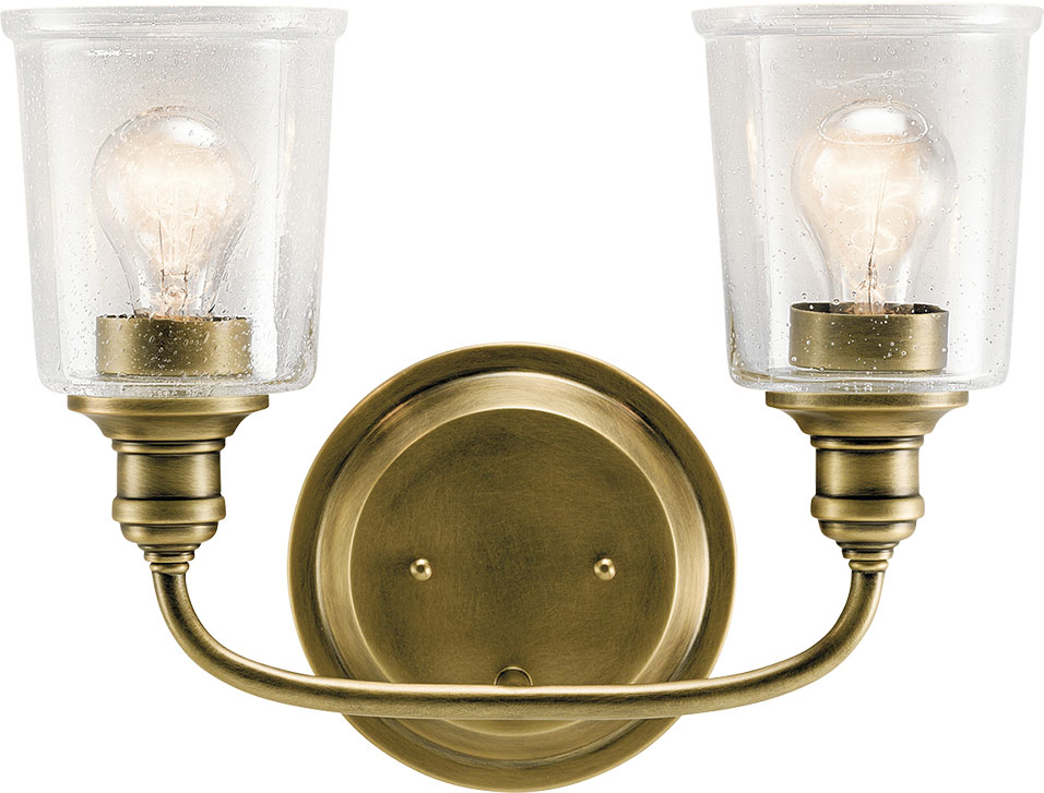 Kichler 45746nbr Waverly Contemporary Natural Brass 2