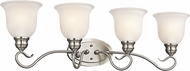 Kichler 45904NIL16 Tanglewood Brushed Nickel LED 4-Light Vanity Lighting