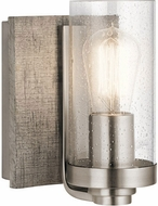 Kichler 45926CLP Dalwood Contemporary Classic Pewter Wall Mounted Lamp
