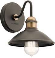 Kichler 45943OZ Clyde Contemporary Olde Bronze Lighting Wall Sconce