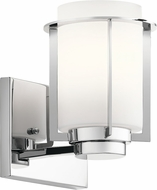 Kichler 45946CH Chagrin Contemporary Chrome Lamp Sconce