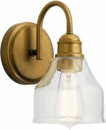 Kichler 45971NBR Avery Contemporary Natural Brass Wall Light Sconce