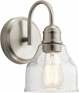 Kichler 45971NI Avery Contemporary Brushed Nickel Wall Sconce Lighting