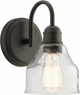 Kichler 45971OZ Avery Modern Olde Bronze Wall Light Fixture