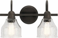 Kichler 45972OZ Avery Modern Olde Bronze 2-Light Vanity Light