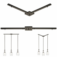 Kichler 4900OZ Contemporary Olde Bronze Pendant Lighting Canopy
