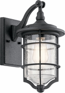 Kichler 49126DBK Royal Marine Distressed Black Outdoor Wall Lamp