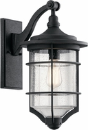 Kichler 49127DBK Royal Marine Distressed Black Exterior Wall Lighting