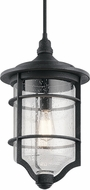 Kichler 49145DBK Royal Marine Contemporary Distressed Black Outdoor Hanging Pendant Lighting