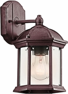 Kichler 49183TZL16 Barrie Traditional Tannery Bronze LED Exterior Lighting Wall Sconce