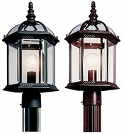 Kichler 49187 Barrie 1 Light 18 Inch Tall Outdoor Classic Post Light