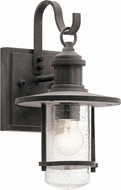Kichler 49191WZC Riverwood Weathered Zinc Outdoor 6.75  Light Sconce