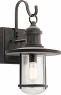 Kichler 49194WZC Riverwood Weathered Zinc Exterior Wall Sconce Lighting