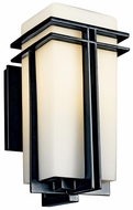 Kichler 49201 Tremillo Contemporary 14 Inch Tall Outdoor Wall Light Fixture