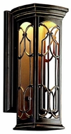 Kichler 49227OZLED Franceasi 18 Outdoor LED Wall Sconce