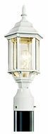 Kichler 49256WH Chesapeake Outdoor Post Mount Light in White Finish