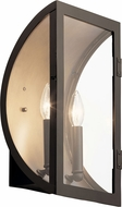 Kichler 49287OZ Narelle Contemporary Olde Bronze Outdoor Wall Lighting Sconce