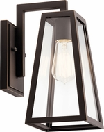 Kichler 49330RZ Delison Modern Rubbed Bronze Exterior Wall Lighting Fixture