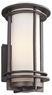 Kichler 49346AZ Pacific Edge Large Outdoor Wall Sconce in Architectural Bronze