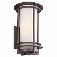 Kichler 49346AZFL Pacific Edge Architectural Bronze Fluorescent Outdoor Large Lighting Wall Sconce