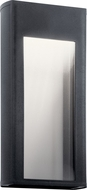 Kichler 49362BKTLED Ryo Contemporary Textured Black LED Outdoor Wall Sconce