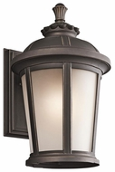 Kichler 49411RZ Ralston Traditional Large Rubbed Bronze Outdoor Wall Light