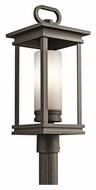 Kichler 49478RZ South Hope Transitional 21 Inch Tall Outdoor Post Lamp - Olde Bronze