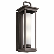 Kichler 49499RZ South Hope Rubbed Bronze Exterior Wall Mounted Lamp