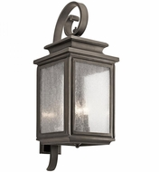 Kichler 49504OZ Wiscombe Park Olde Bronze Exterior Wall Mounted Lamp