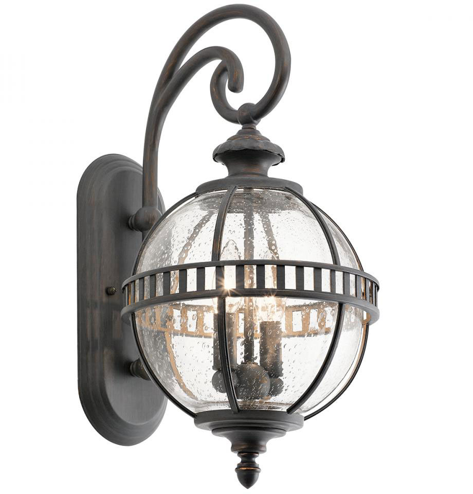 Ld Kichler: Kichler 49600LD Halleron Londonderry Outdoor Wall Lighting