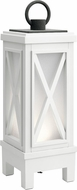 Kichler 49679WHRLED Montego Weathered White LED Exterior Portable Lantern