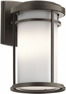Kichler 49686OZL16 Toman Traditional Olde Bronze LED Exterior Wall Light Sconce