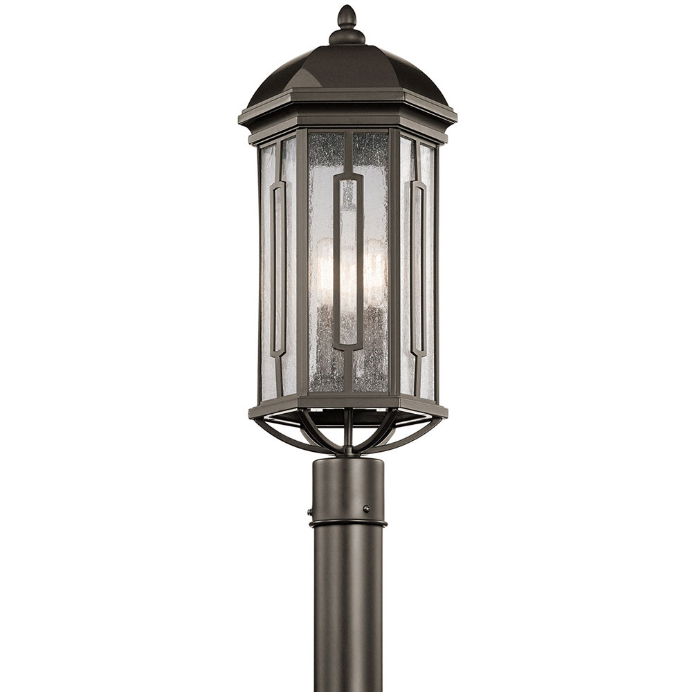 Kichler 49712oz galemore olde bronze outdoor post light kic 49712oz kichler 49712oz galemore olde bronze outdoor post light loading zoom aloadofball Gallery