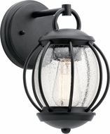 Kichler 49726BKT Vandalia Textured Black Outdoor 7  Wall Light Fixture