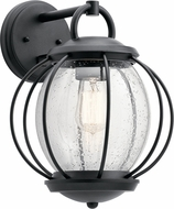 Kichler 49728BKT Vandalia Textured Black Outdoor 11  Wall Lighting Sconce