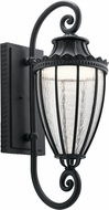 Kichler 49753BKTLED Wakefield Textured Black LED Exterior 10.5  Wall Lighting Fixture