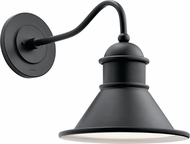 Kichler 49776BK Northland Contemporary Black Outdoor Wall Lamp