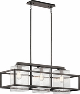 Kichler 49805WZC Wright Modern Weathered Zinc Exterior Island Lighting