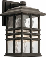 Kichler 49830OZ Beacon Square Olde Bronze Exterior 8  Wall Lamp