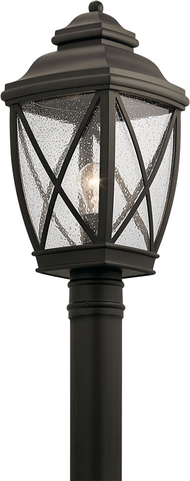 Kichler 49843oz Tangier Traditional Olde Bronze Outdoor