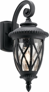 Kichler 49847BKT Admirals Cove Traditional Textured Black Exterior 8.25  Wall Sconce Lighting