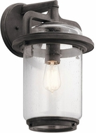 Kichler 49866WZC Andover Modern Weathered Zinc Exterior 10 Lamp Sconce