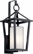 Kichler 49878BK Pai Black Outdoor Light Sconce