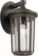 Kichler 49893OZ Fairfield Contemporary Olde Bronze Outdoor 7.5 Wall Sconce Lighting