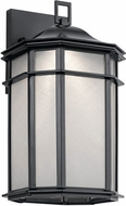 Kichler 49899BKLED Kent Contemporary Black LED Outdoor Wall Lighting Fixture