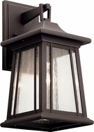 Kichler 49909RZ Taden Traditional Rubbed Bronze Outdoor Lamp Sconce