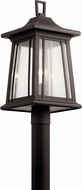 Kichler 49911RZ Taden Traditional Rubbed Bronze Outdoor Landscaping Light