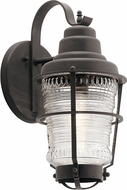 Kichler 49937WZC Chance Harbor Contemporary Weathered Zinc Exterior Medium Wall Sconce Lighting