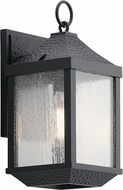 Kichler 49984DBK Springfield Distressed Black Exterior Small Wall Light Sconce