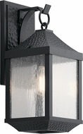 Kichler 49985DBK Springfield Distressed Black Outdoor Medium Wall Sconce Light